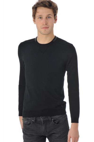 Redskins-Pullover aus schwarzer Viskose