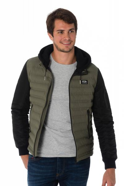 Blouson Homme Redskins JEFFERSON INSIDE KHAKI BLACK H18