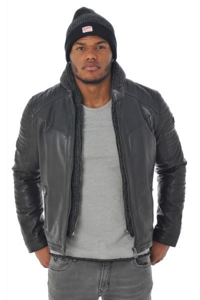 Blouson Homme Redskins MORRISON MOJITO BLACK H16