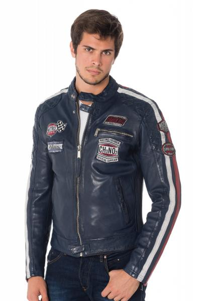 Blouson Homme Redskins RIPPER CALISTA ROYAL BLUE
