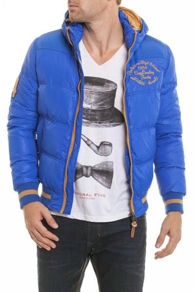 Doudoune textile Redskins Bleu