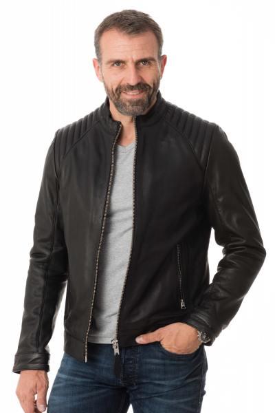 Blouson Homme Schott LCJULES BLACK