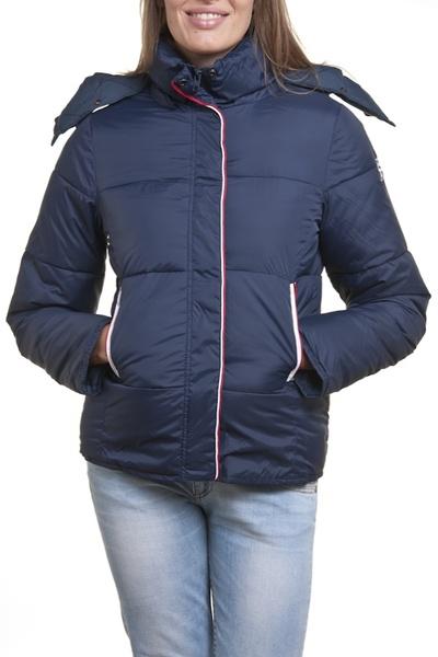 blaue Damen-Textiljacke  SCHOTT              title=