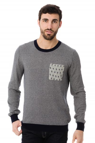 Pull rayé homme Scotch an Soda              title=