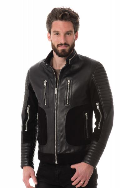Blouson Homme Serge Pariente FIGHTER BLACK