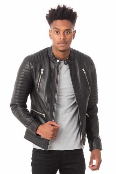 Blouson Homme Serge Pariente NEW LUX BLACK