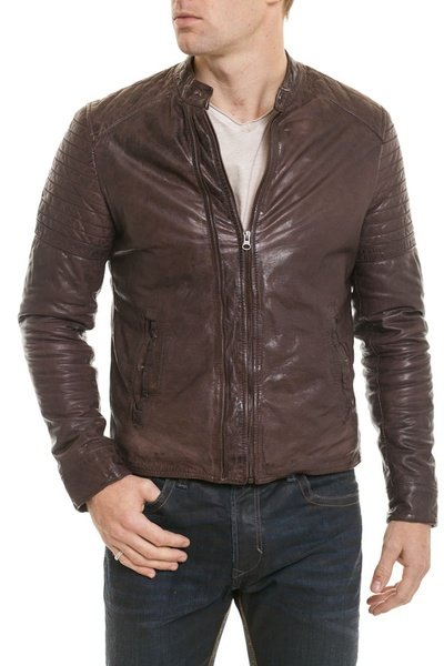 Blouson Homme Serge Pariente SH COOL BROWN ZZ