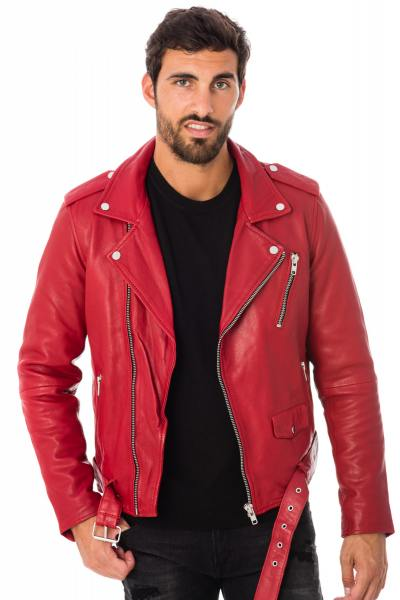 Perfecto homme rouge              title=