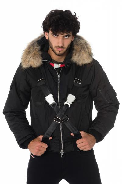 Blouson Homme The New Designers PILOT BLACK