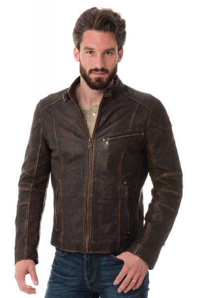 Blouson Homme Trapper LARGO COFFEE BROWN 703