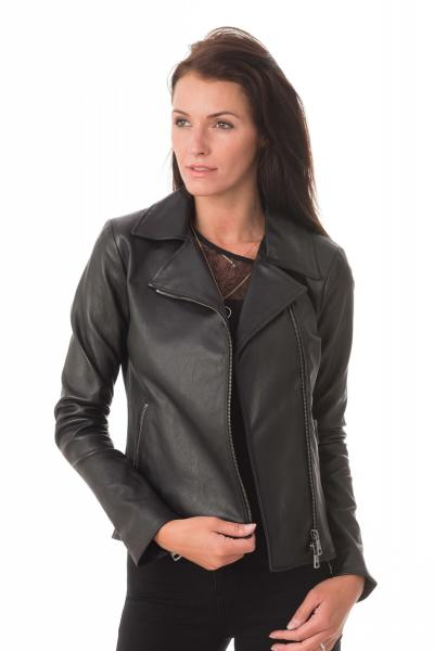 Superbe veste femme stretch style perfecto               title=