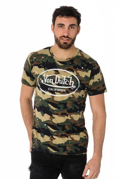 Tee Shirt Homme Von Dutch T SHIRT CAMO