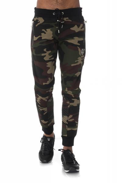 camouflage-khakifarbene Jogginghose Horspist