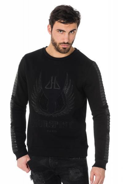 Pull/Sweatshirt Homme horspist ROCK M300 BLACK