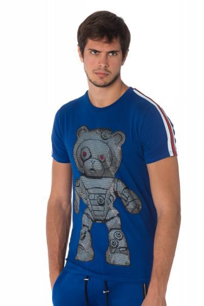 Tee Shirt Homme horspist ARELLANO M500 BLUE