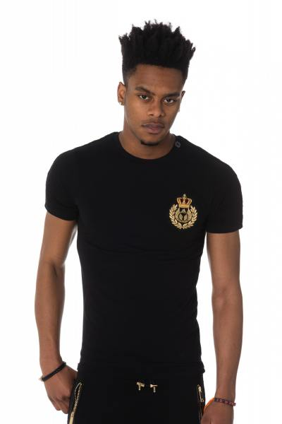 Tee Shirt Homme horspist JAMES M500 BLACK
