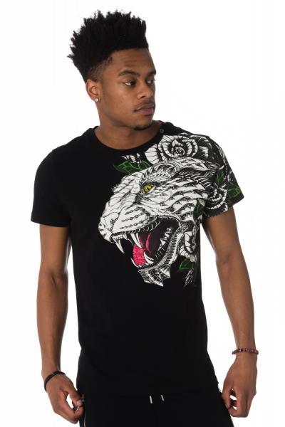 Tee Shirt Homme horspist GUETTA M520 BLACK