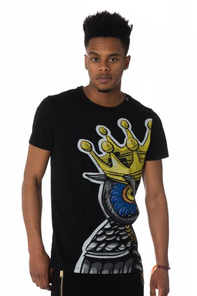 Teeshirt noir imprimé king