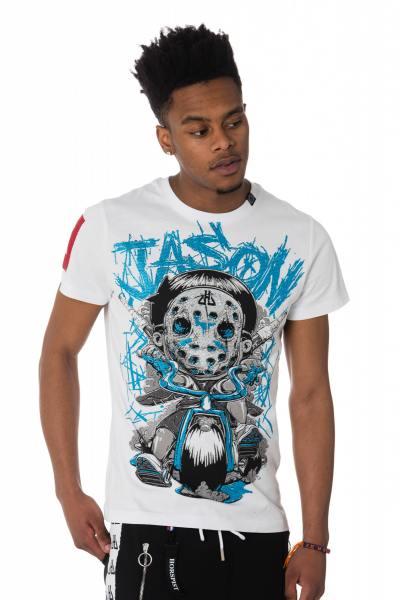 Tee Shirt Homme horspist JASON TS WHITE