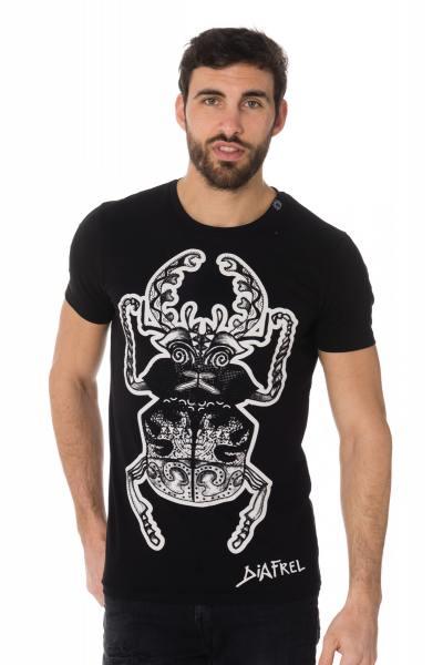 Tee Shirt Homme horspist BEETLE M500 BLACK