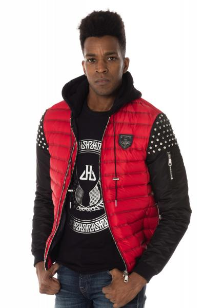 Blouson Homme horspist POWELL RED/BLACK
