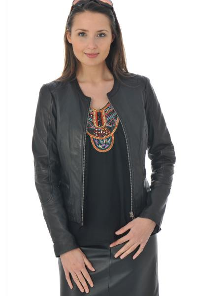 Blouson Femme mornington ELO SHEEP BLACK