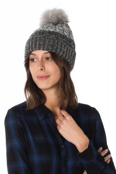 Bonnet Femme Accessoires Redskins BONNET GWYNETH NOIR GRIS