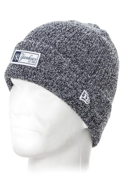 Bonnet Femme New Era MLB TWIST YARN CUFF NEYYAN NVY/WHI 5641