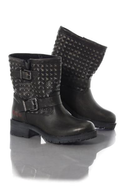 Boots aus Leder mit Nieten              title=