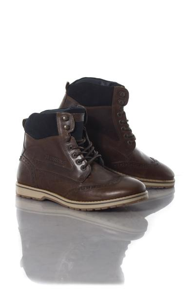 Boots / bottes Homme Chaussures Redskins ATEX CHATAIGNE MARINE