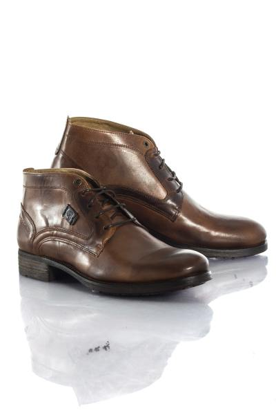 Boots / bottes Homme Chaussures Redskins FILET COGNAC