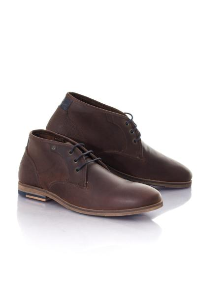 Boots / bottes Homme Chaussures Redskins ALERTE CHATAIGNE