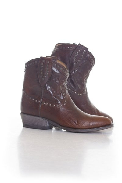 Bottines en cuir Femme Schott Marrons              title=