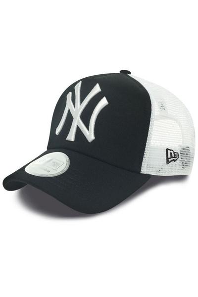 Casquette NY Yankees Noire et blanche              title=