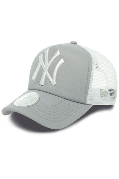 Casquette Homme New Era CLEAN TRUCKER NEYYAN GRAY/WHITE 0849