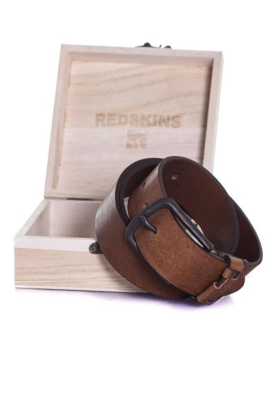 Ceinture Homme Accessoires Redskins COFFRET RED GOLF TABAC