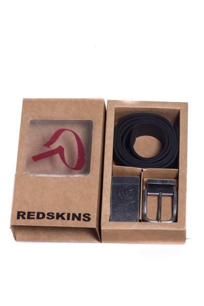 Ceinture Homme Accessoires Redskins COFFRET RED GOFFRE NOIR