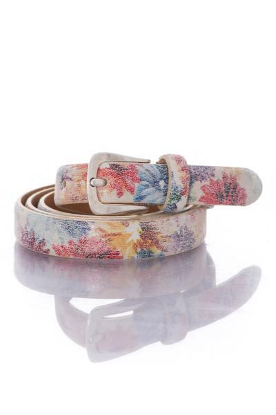 Ceinture femme Vanzetti à motif fleural              title=