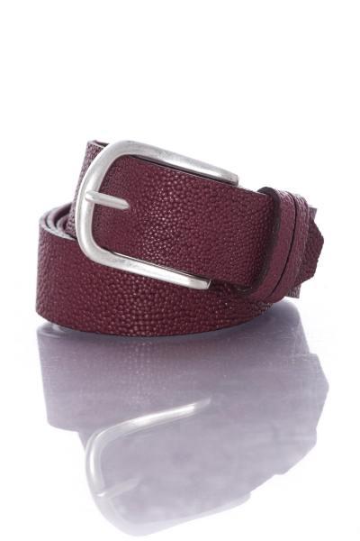 violetter Vanzetti-Damengürtel aus Leder              title=