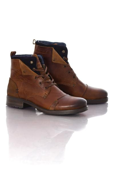 Boots / bottes Homme Chaussures Redskins YEDES COGNAC MARINE