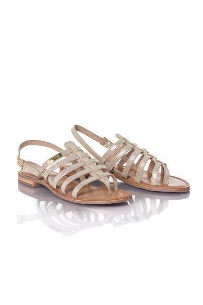 Chaussures Femme Les Tropéziennes par M Belarbi HARIETTE BEIGE/OR