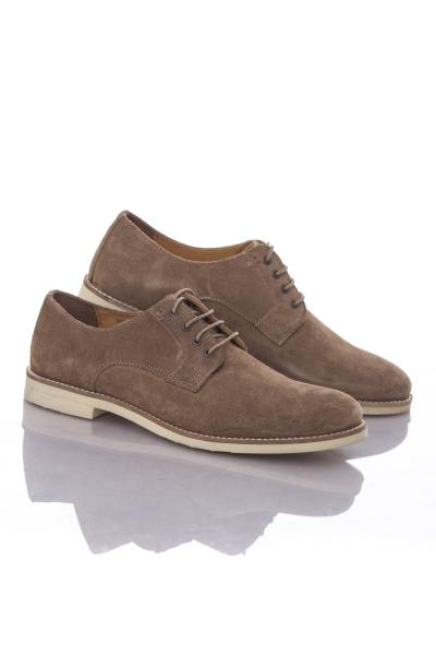 Chaussures Redskins aspect Daim Redskins Taupe