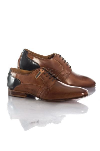 Chaussures à lacets Homme Chaussures Redskins BIENTOT COGNAC MARINE