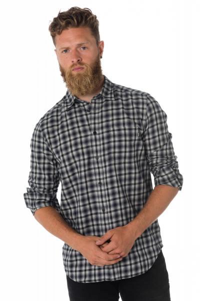Chemise à carreaux homme Diesel              title=