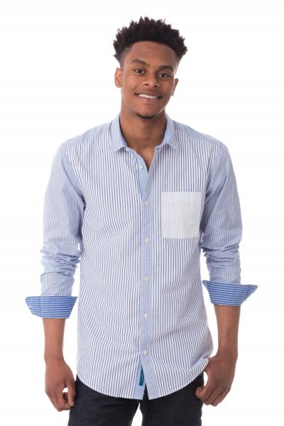 Chemise à rayures homme Scotch and Soda              title=