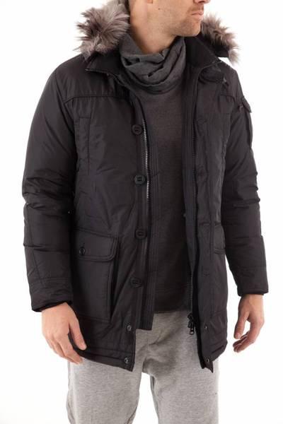warme und leichte Herren-Daunenjacke SERGE PARIENTE aus Nylon