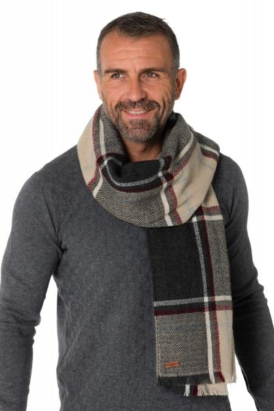 Echarpe Homme Chevignon COLORLINES GRIS CHINE 459