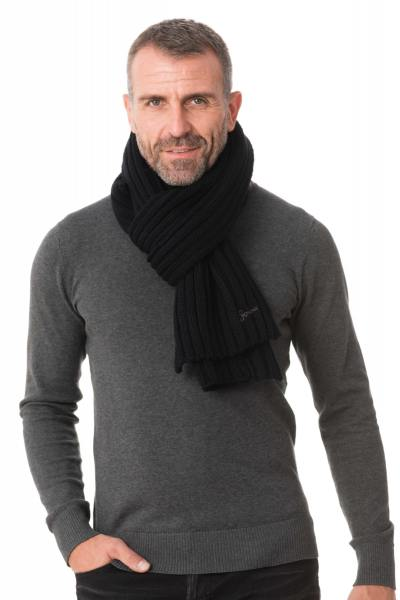 Echarpe Homme Schott SCARF BOSTON BLACK