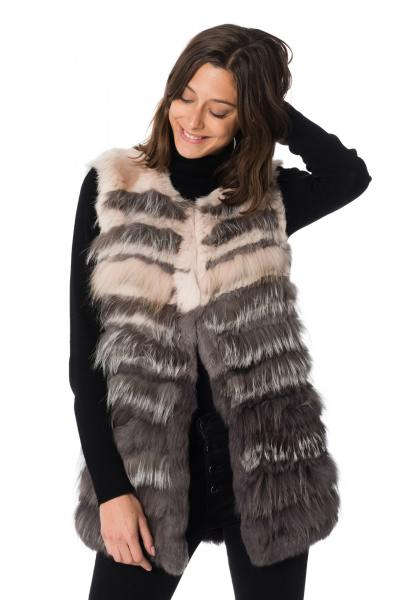 Gilet sans manches en fourrure Oakwood              title=