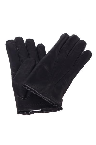 Herren-Handschuhe aus Schafleder, gefüttert mit Merinowolle              title=